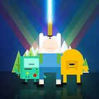Adventure Time - Star Wars by saboe