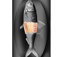 <º))))>< FISH WITH A TWIST IPHONE CASE<º))))><  by ✿✿ Bonita ✿✿ ђєℓℓσ