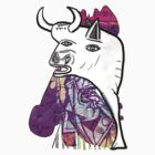 Picasso BULL -COLOR- by YabuloStore919