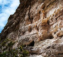 Cliffs by Montezuma Castle by designingjudy