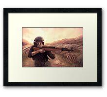 Post-apocalypse Survivor Framed Print
