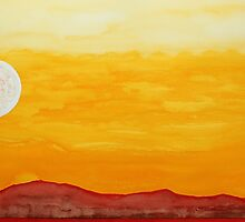 Moonshine original painting by CrowRisingMedia