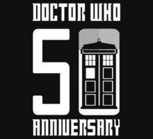 Doctor Who Anniversary! /on dark colours/ by SallySparrowFTW