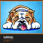 English Bulldogs Off-Leash Art™ Vol 1 by offleashart