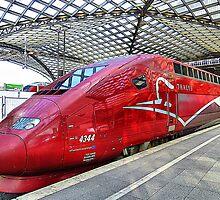 Thalys High Speed train. by Lilian Marshall