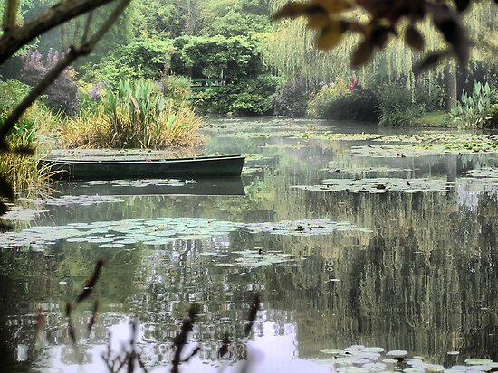 Monet's Pond (2) by Larry Lingard-Davis