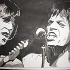 Rolling Stones by Colin  Laing