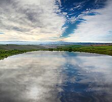 Pond Reflection - Barrabool Hills by Hans Kawitzki