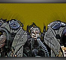 ©AS Alien Draw In Comic I by OmarHernandez