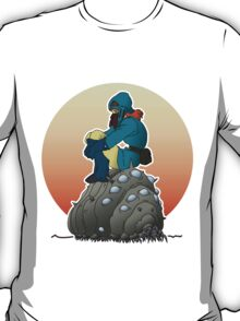 Nausicaa & baby Ohmu taking a break... T-Shirt