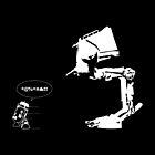 R2D2 - RUN! AT-ST Version by KAMonkey