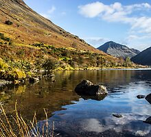 Scafell Pike from Wastwater by Paul Madden