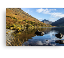 Scafell Pike from Wastwater Canvas Print