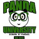 Panda University - Green by Adamzworld