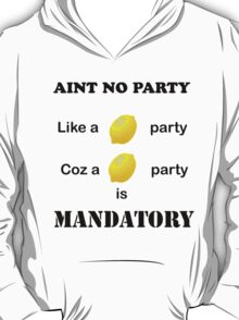 Liz Lemon Party T-Shirt