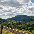 Blue Ridge Mountains by Clarkartusa