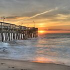 Virginia Beach Sunrise by Clarkartusa