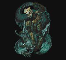 Cherno Alpha - Aleksis Beats Up a Kaiju Kids Clothes