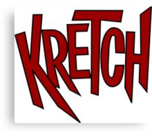 Kretch Canvas Print