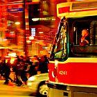 Toronto streetcar by Wojtek  Jaskiewicz