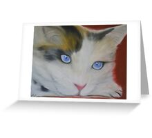 Purrr Your Eyes Only Greeting Card