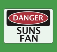 DANGER SUNS FAN FAKE FUNNY SAFETY SIGN SIGNAGE by DangerSigns