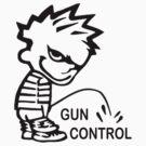 Pee on Gun Control by panzerfreeman