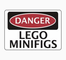 DANGER LEGO MINIFIGS FAKE FUNNY SAFETY SIGN SIGNAGE by DangerSigns