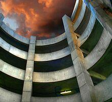 Garage Spiral by Michael  Herrfurth