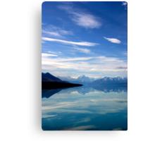 Lake Pukaki and Mount Cook NZ Canvas Print