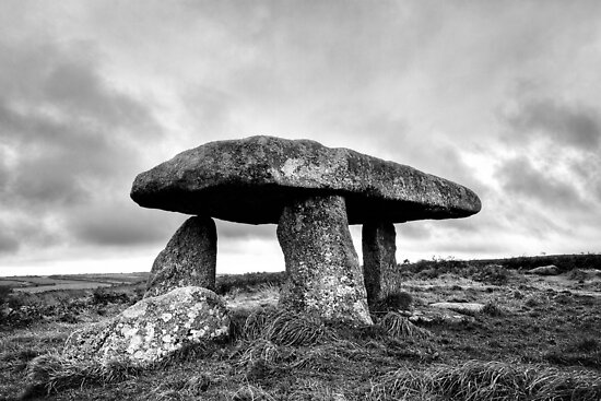 Memory Of The Land - Lanyon Quoit by Mark Tisdale