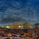Coles Bay-pano by Kip Nunn