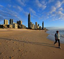 Surfers Paradise. Gold Coast, Queensland, Australia. by Ralph de Zilva