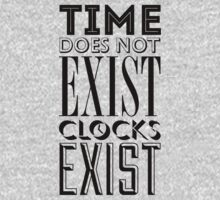 Time does not exist by Andrea Iorio