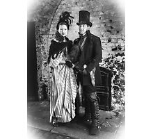 Victorian Couple Photographic Print