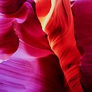 Sandstone Swirls - Lower Antelope Canyon, Arizona, USA by TonyCrehan
