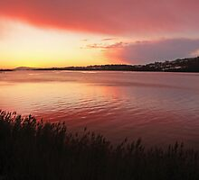 Foyle Sunset by Adrian McGlynn