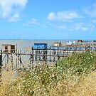 Les carrelets in Port des Barques, Charente Maritime, France by 7horses