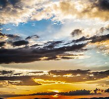 Steppe Sunset by Ruben D. Mascaro