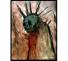 Wretched Zombie Filth Photographic Print