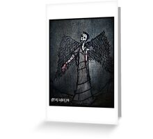 Marquis In Spades Greeting Card