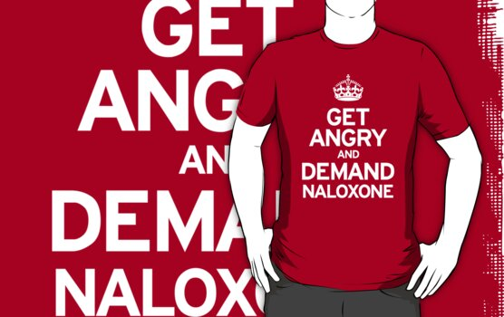 Demand Naloxone by Nigel  Brunsdon