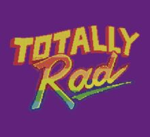 Totally Rad Video Game Logo by LifeDesigned
