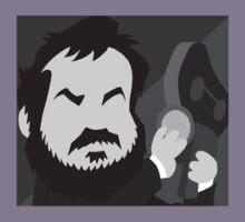 Stanley Kubrick pop Icon  by DanDav