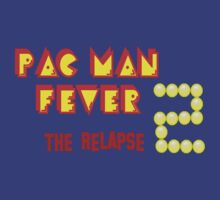 pac-Man Fever 2 the relapse t-shirt logo by DanDav