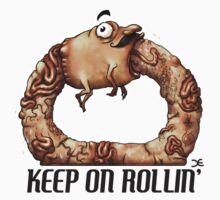 Keep On Rollin' - sticker by Demmy