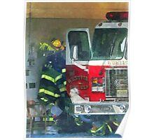 Firemen - Inside the Fire Station Poster