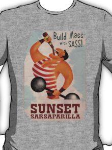 Build Mass With Sass T-Shirt