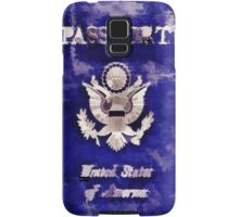 Passport To Travel Samsung Galaxy Case/Skin