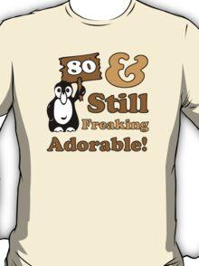 Cute 80th Birthday Gift For Women T-Shirt